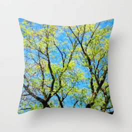 Full of Life Throw Pillow