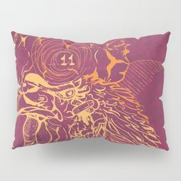 El Briguento - The Fighter (Golden) Pillow Sham