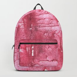 Cinnamon Satin abstract watercolor Backpack