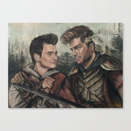 The Assassin and Warrior  Canvas Print