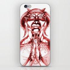 Prayer (Red) iPhone & iPod Skin