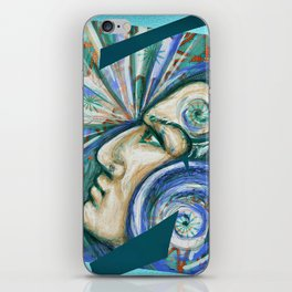 The power of your mind iPhone Skin