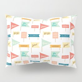 Celebration Flags Pillow Sham