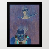 circus Art Prints featuring Circus by Art-Ist by Anne Risum