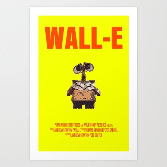 Wall-E Art Print