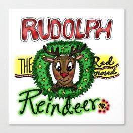 Rudolph the Reindeer Canvas Print