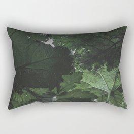 Giant Green Plants - Nature Photography Rectangular Pillow