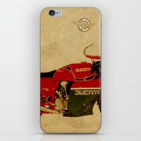 ducati iPhone & iPod Skins featuring Ducati 900 MHR 1980 by Larsson Stevensem