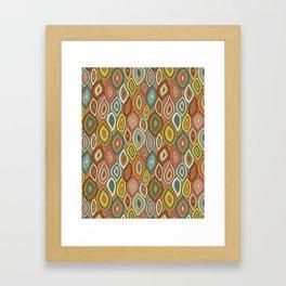 Enchanted Gypsy Leaves Framed Art Print