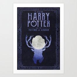 HP Book 3 (Book Cover) Art Print