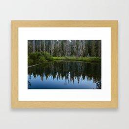 Little Crater Lake 1 Framed Art Print