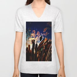 Lets watch this City burn Unisex V-Neck