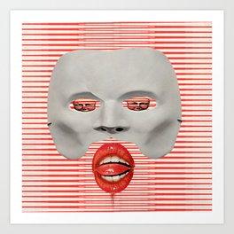 Faciem Eam Art Print