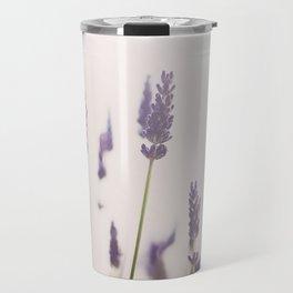 a purple haze of lavender photograph Travel Mug