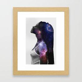 My Skin Is Magic Framed Art Print
