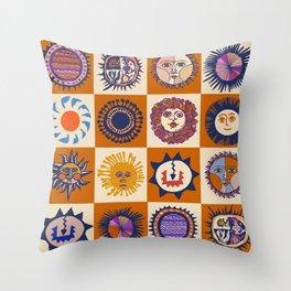 Arizona del Sols Throw Pillow