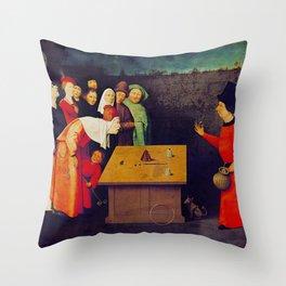 The Conjurer Throw Pillow