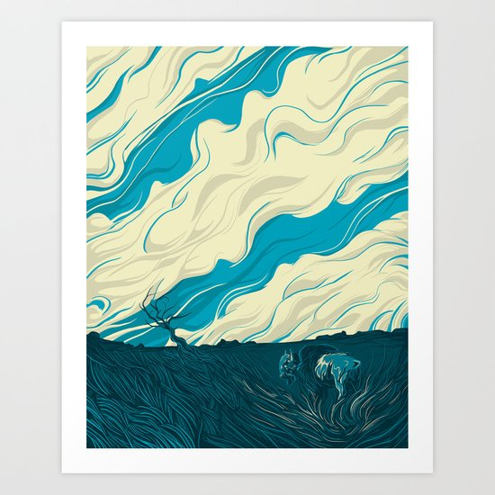 MBison Art Print