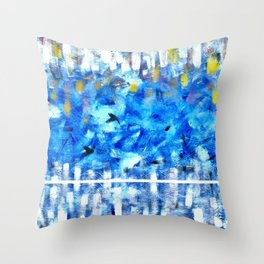 Fly2 Throw Pillow
