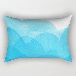 Always blue Rectangular Pillow