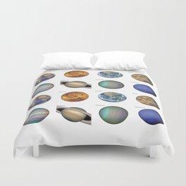 Planets solar system Duvet Cover