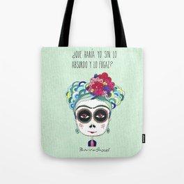 Frida by Patricia Fornos Tote Bag
