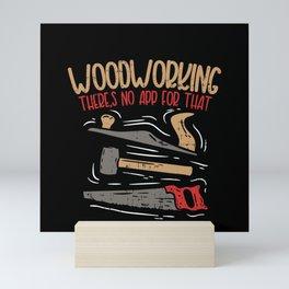 Carpenter Woodworker Mini Art Print