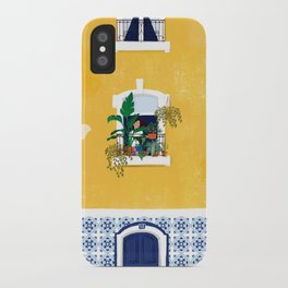 Lisbon girl iPhone Case