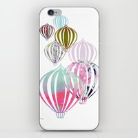 ballon iPhone & iPod Skins featuring Ballon by Lydia Wienberg