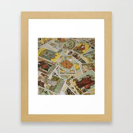 Tarot Cards Framed Art Print