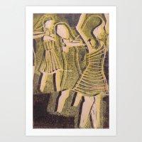 Conga Art Print