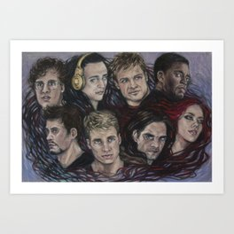 More than the sum of their parts Art Print