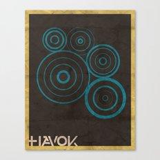 Minimalist Havok Canvas Print