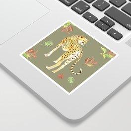 Cheetah Clearing Sticker