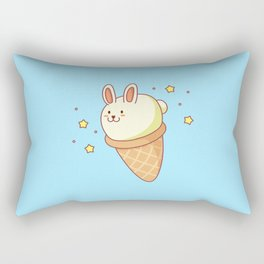 Bunny-lla Ice Cream Rectangular Pillow