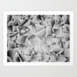 Contrasted I Art Print