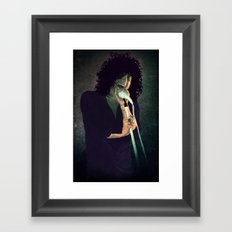 Cedric Framed Art Print