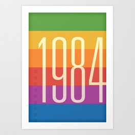 1984 (h) Art Print