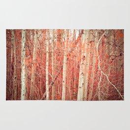 Autumn Trees Rug
