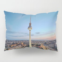 Berlin TV Tower Pillow Sham