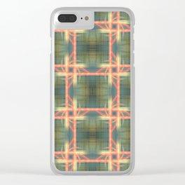 Weaving Pattern Clear iPhone Case