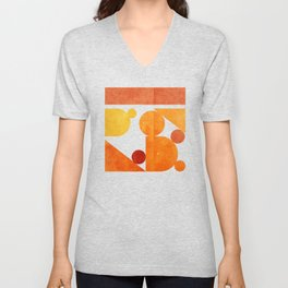 abstract0605 Unisex V-Neck