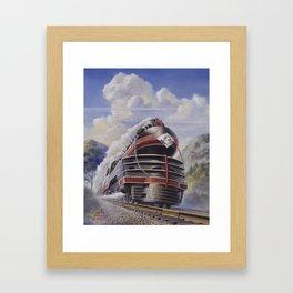 Lehigh Valley Railroad - The John Wilkes Framed Art Print