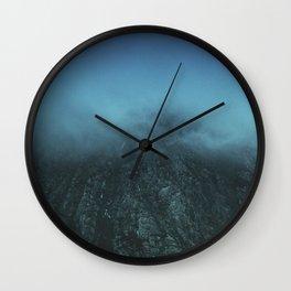 welsh mountains Wall Clock