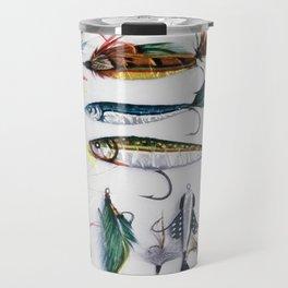 Flies and Lures Travel Mug