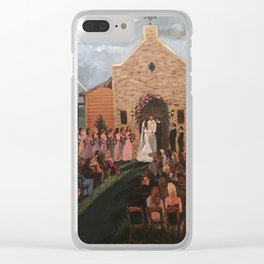 Williams-Whittle Wedding in Houston TX Clear iPhone Case