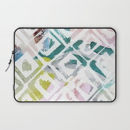 Awash   Colorful Geometric Print Laptop Sleeve