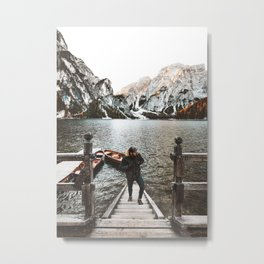 man at braies Metal Print
