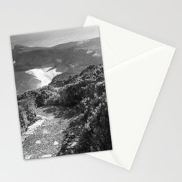 Path along cliffs of Cape Point, South Africa Stationery Cards