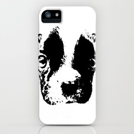 Curious French Bulldog iPhone Case